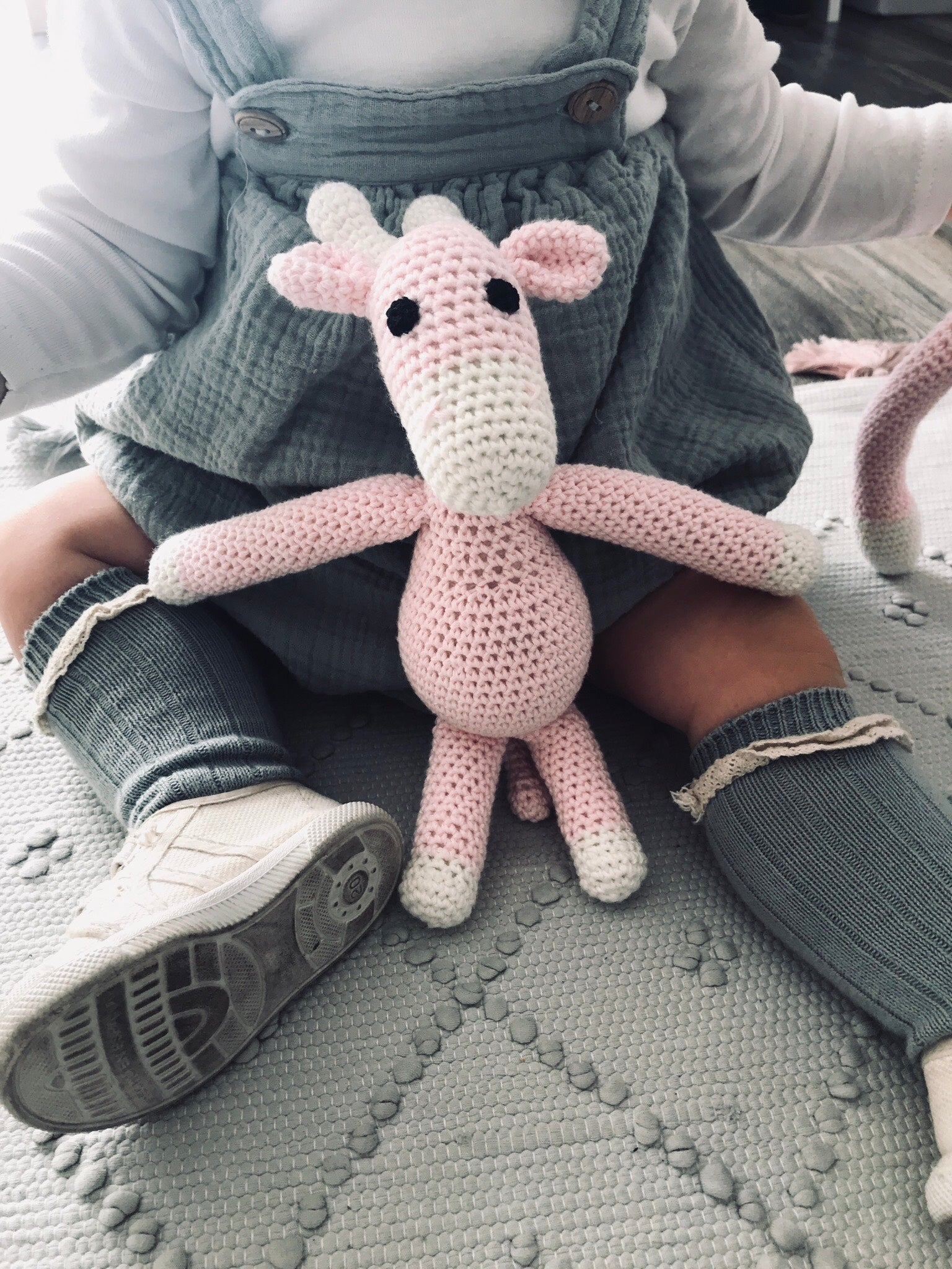Giraffe | Light Pink | Toys | Mimi Cuties | [product_tag] - Fair Bazaar Ethical Living