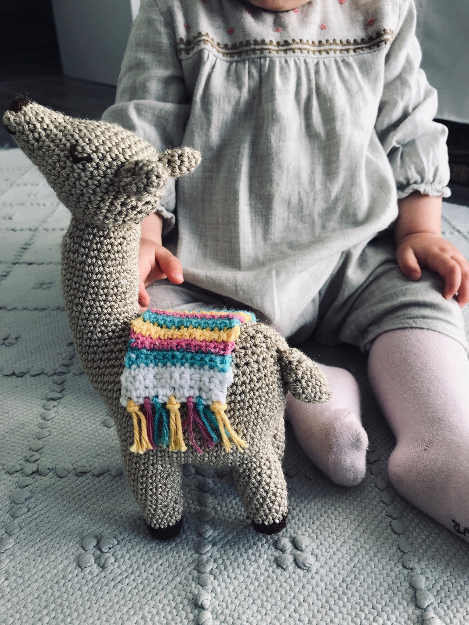 Llama | Taupe | Toys | Mimi Cuties | [product_tag] - Fair Bazaar Ethical Living