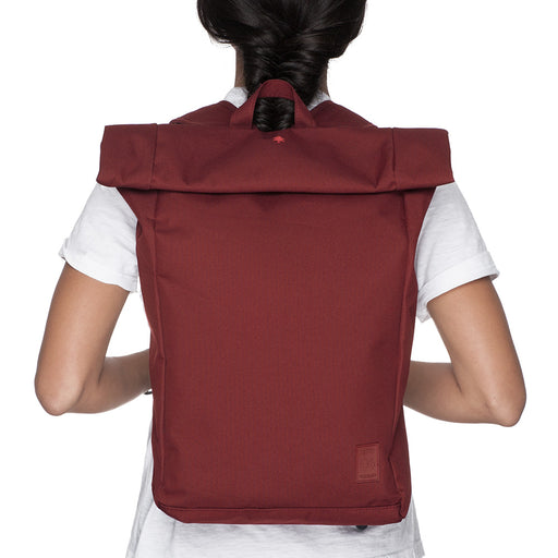 Eco Roll Backpack | Granate | Accessories | Lefrik | [product_tag] - Fair Bazaar Ethical Living