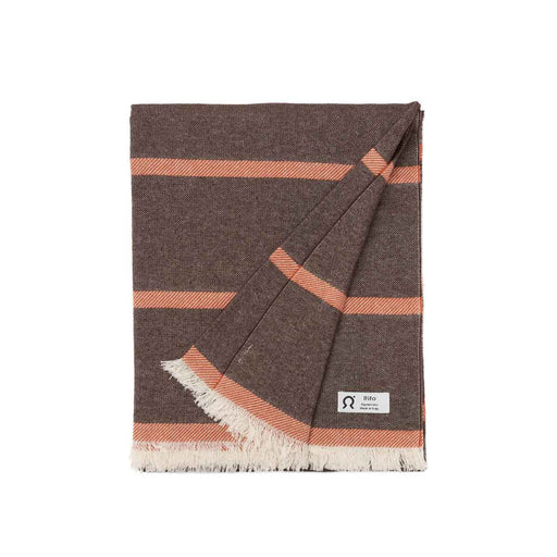 Upcycled Cotton Beach Towel Onda | Beachwear | Rifò Lab | [product_tag] - Fair Bazaar Ethical Living