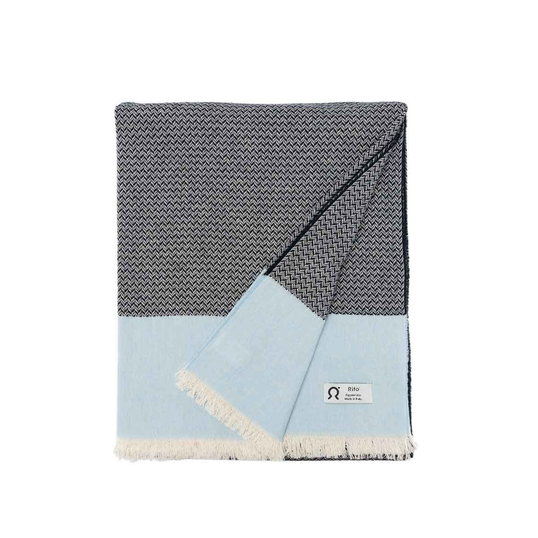 Upcycled Cotton Beach Towel Sabbia | Beachwear | Rifò Lab | [product_tag] - Fair Bazaar Ethical Living