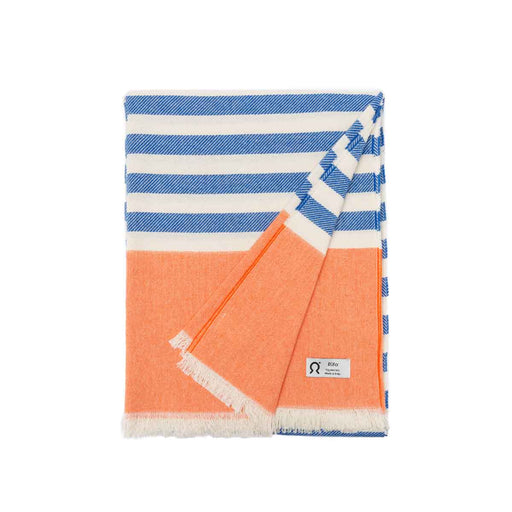 Upcycled Cotton Beach Towel