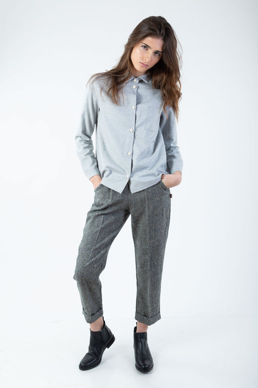 Wool Cigarrette Trousers | Bottoms | Näz | [product_tag] - Fair Bazaar Ethical Living
