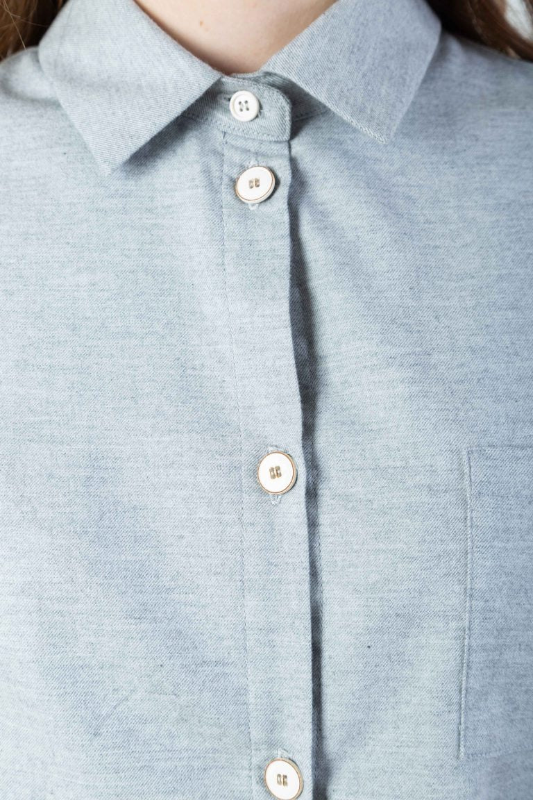 Cashmere Shirt | Shirts | Näz | [product_tag] - Fair Bazaar Ethical Living