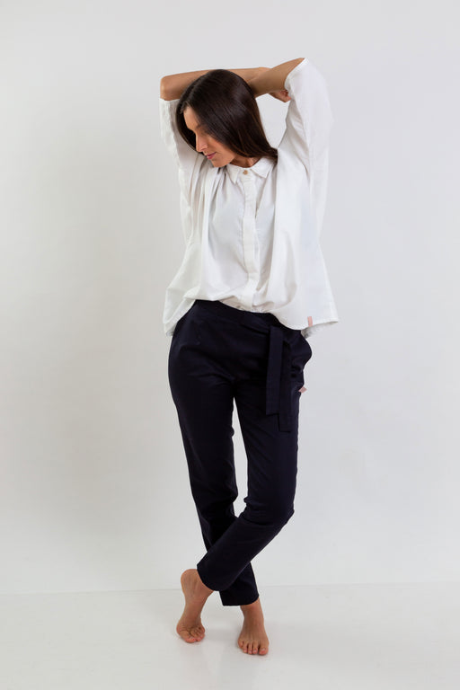Cotton Knot Trousers | Bottoms | Näz | [product_tag] - Fair Bazaar Ethical Living