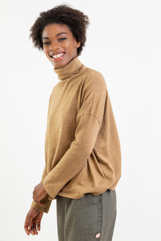 Turtleneck Long Sleeve | Tops | Näz | [product_tag] - Fair Bazaar Ethical Living
