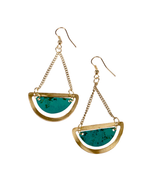 Nidhi Earrings | Accessories | Daughters of The Ganges | [product_tag] - Fair Bazaar Ethical Living