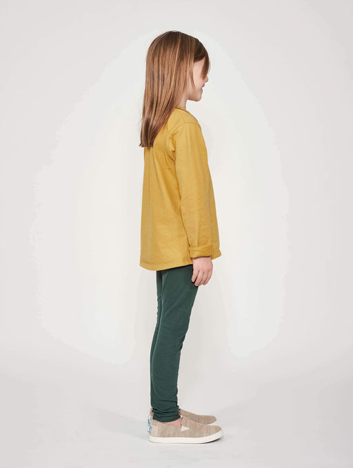 Mighty Longsleeve - Honey Gold - Fair Bazaar Ethical Living