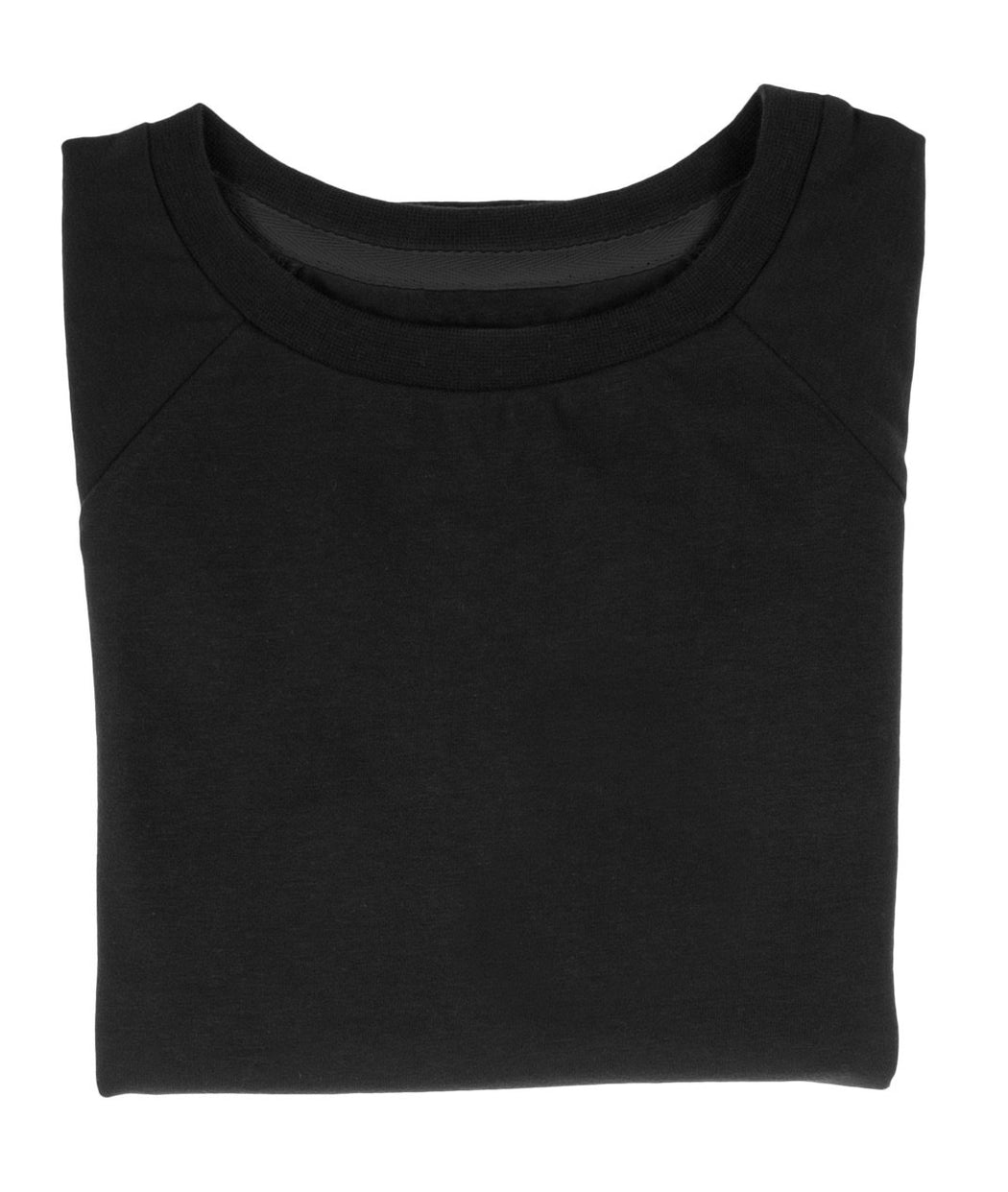 The Luxury Tee - Cosmic Black | T-shirts & Tops | ORBASICS | [product_tag] - Fair Bazaar Ethical Living