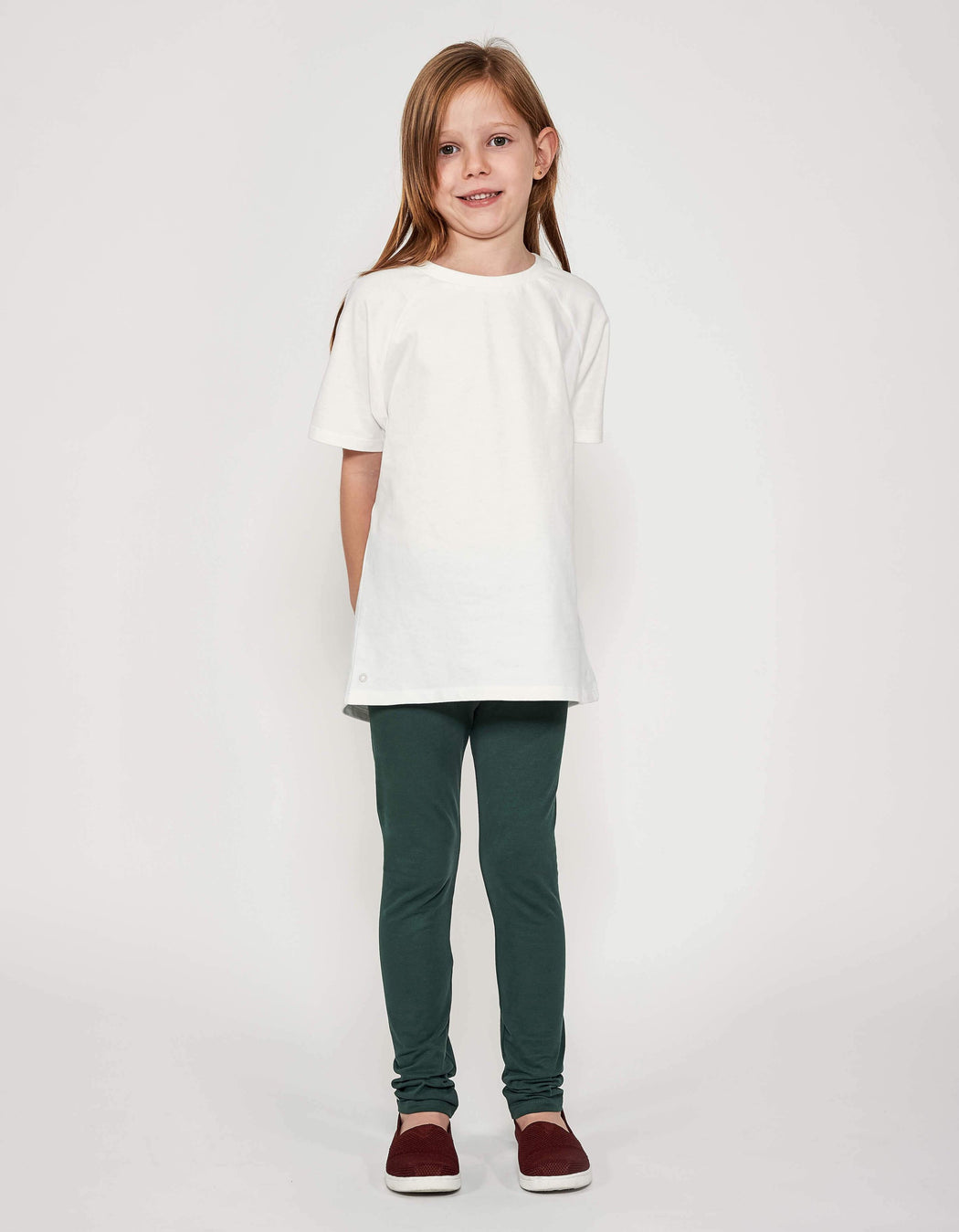 The Luxury Tee - Cloud White | T-shirts & Tops | ORBASICS | [product_tag] - Fair Bazaar Ethical Living