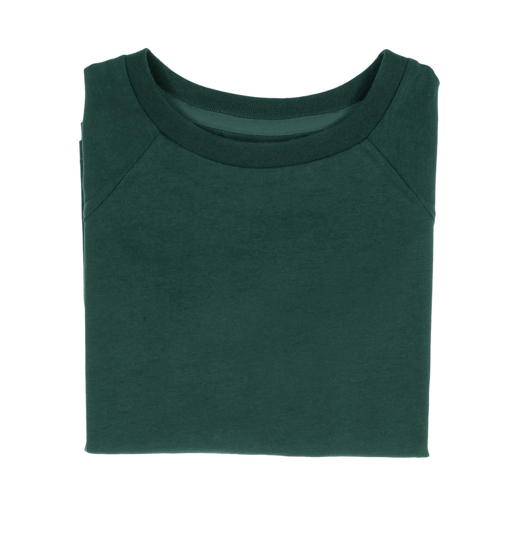 The Luxury Tee - Forest Green | T-shirts & Tops | ORBASICS | [product_tag] - Fair Bazaar Ethical Living