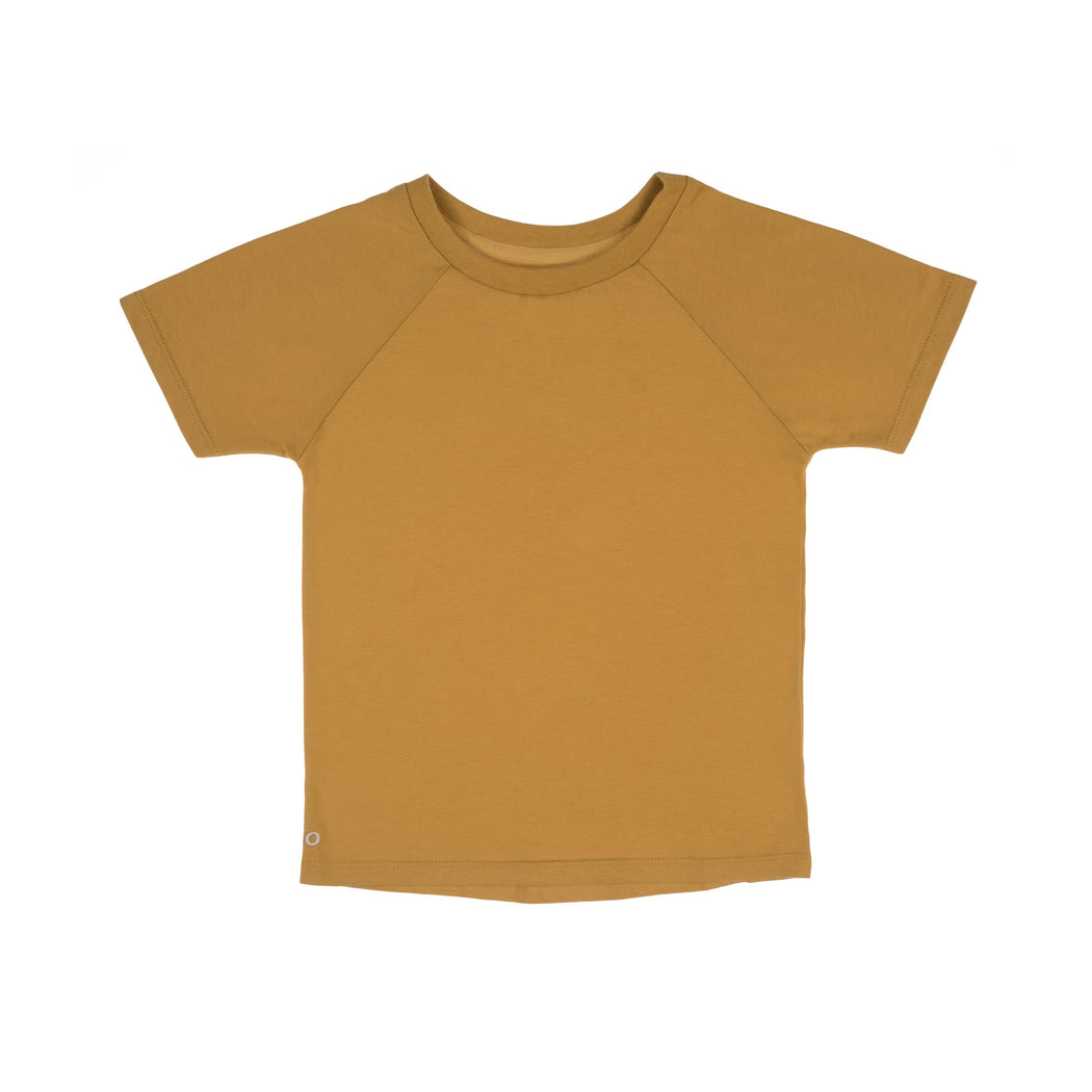 The Luxury Tee - Honey Gold | T-shirts & Tops | ORBASICS | [product_tag] - Fair Bazaar Ethical Living