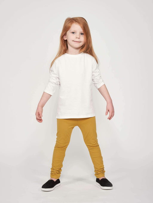 Mighty Longsleeve - Cloud White - Fair Bazaar Ethical Living
