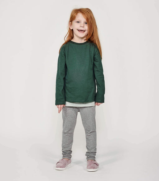Mighty Longsleeve - Forest Green - Fair Bazaar Ethical Living