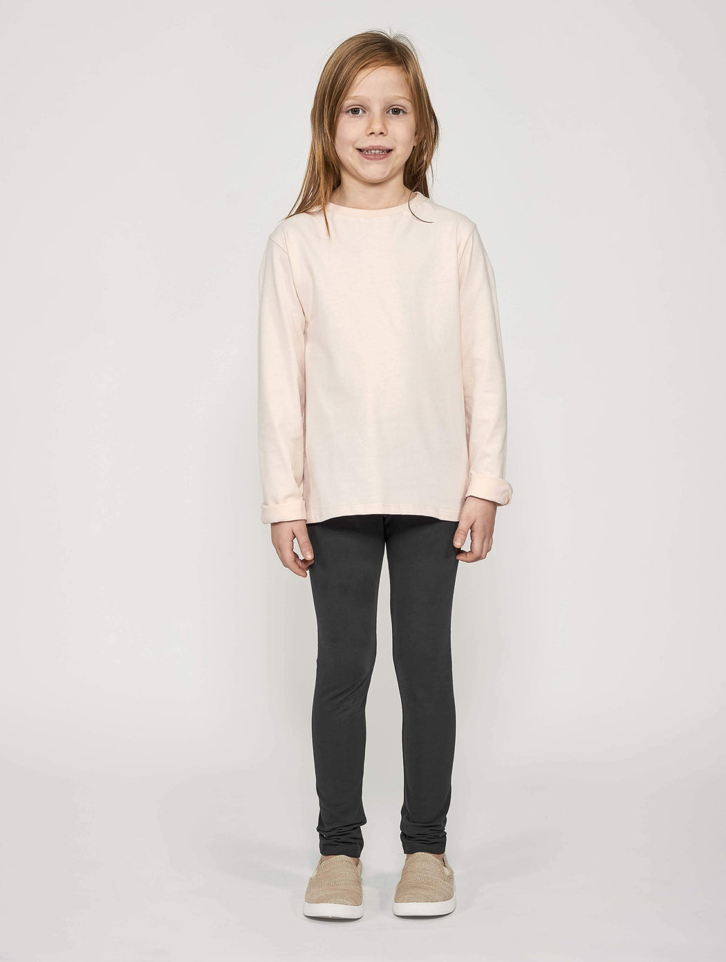 Mighty Longsleeve - Seashell Blush | T-shirts & Tops | ORBASICS | [product_tag] - Fair Bazaar Ethical Living