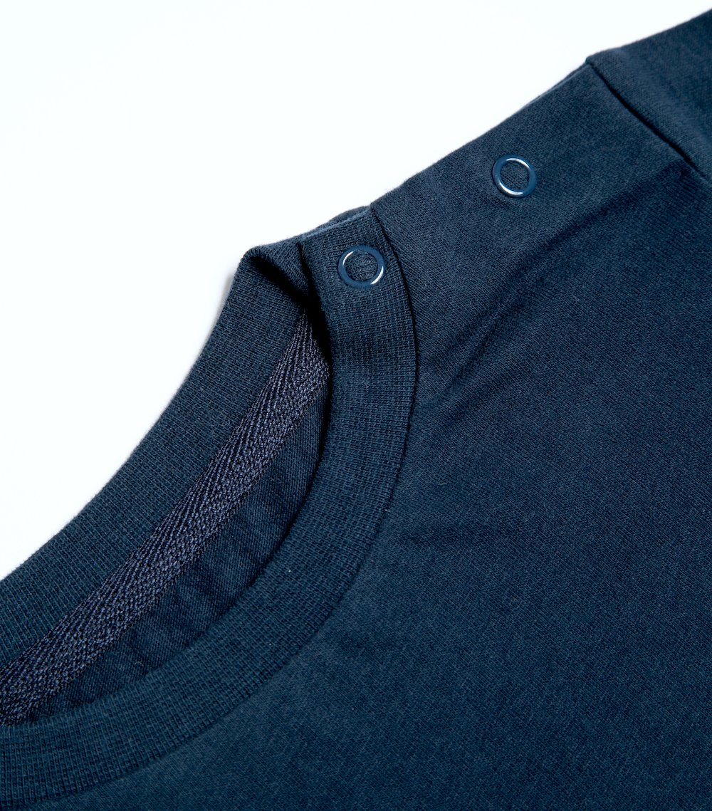 Mighty Longsleeve - Night blue | T-shirts & Tops | ORBASICS | [product_tag] - Fair Bazaar Ethical Living