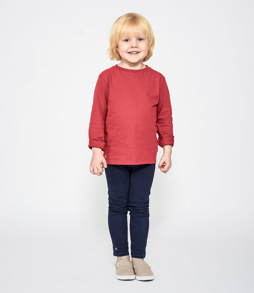 Mighty Longsleeve - Pomegranate - Fair Bazaar Ethical Living