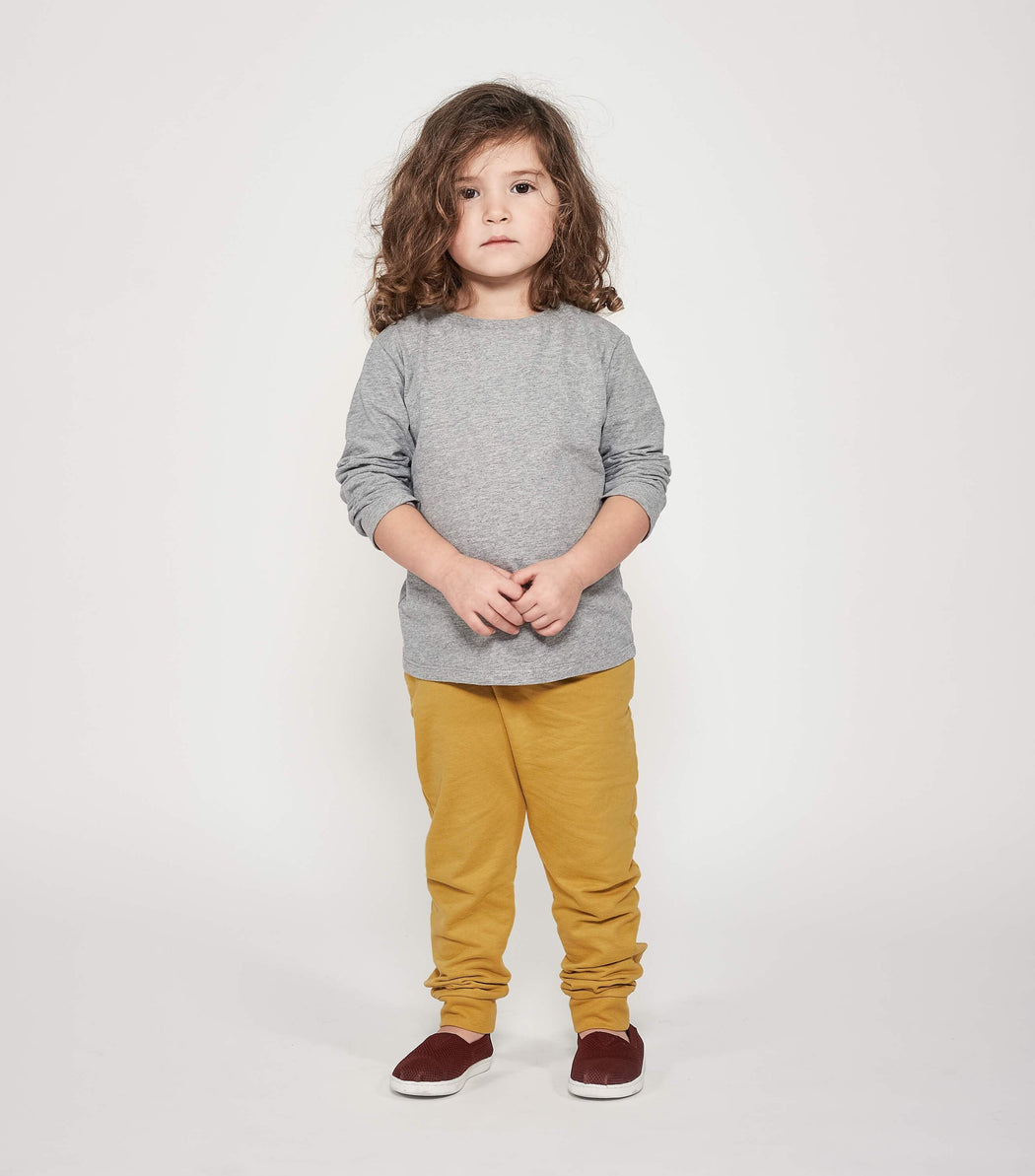 Oh-So-Easy Pants - Honey Gold | Trousers & Shots | ORBASICS | [product_tag] - Fair Bazaar Ethical Living