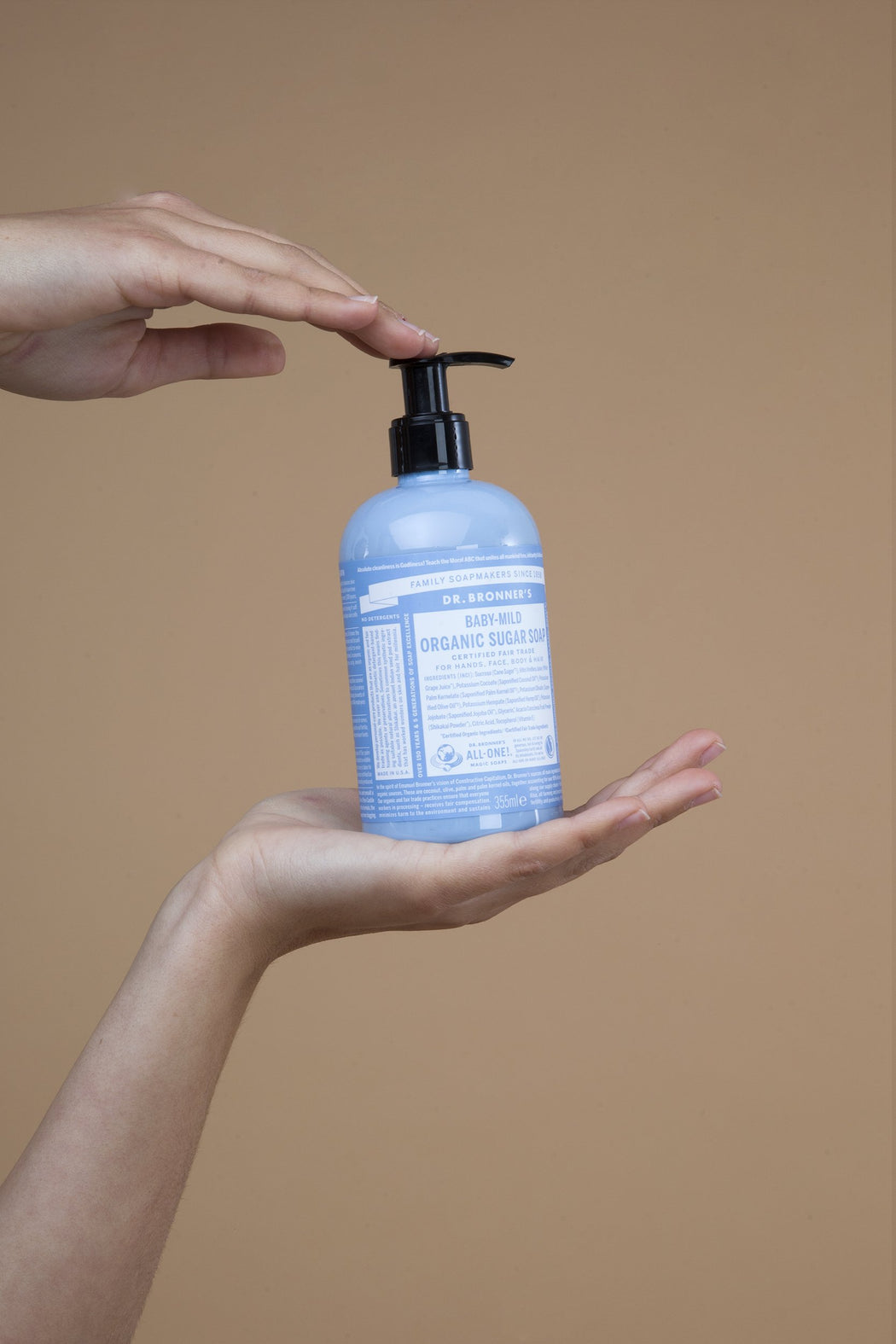 Unscented Sugar Soap | Beauty | Dr. Bronner's | [product_tag] - Fair Bazaar Ethical Living