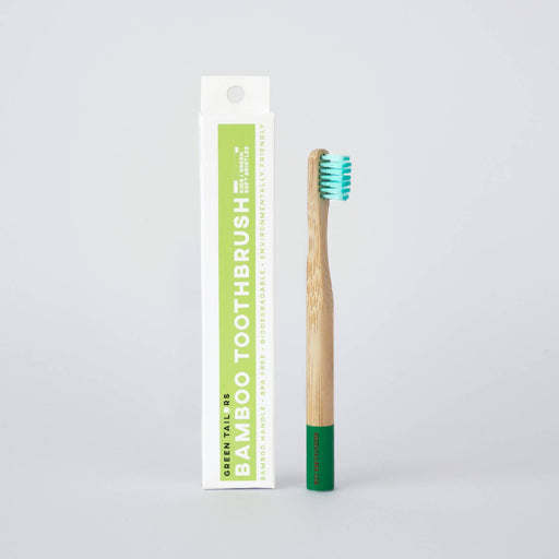 BAMBOO TOOTHBRUSH | Kid | Green | Soft bristles