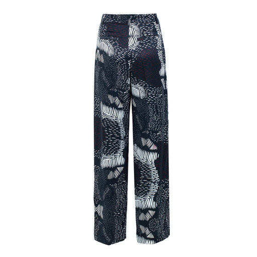 Reflection Printed Trousers