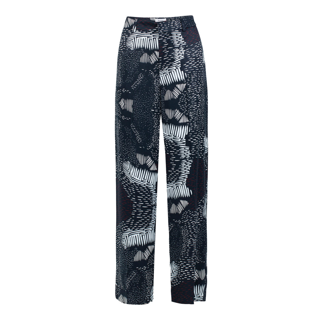 Reflection Printed Trousers | Bottoms | Rhumaa | [product_tag] - Fair Bazaar Ethical Living