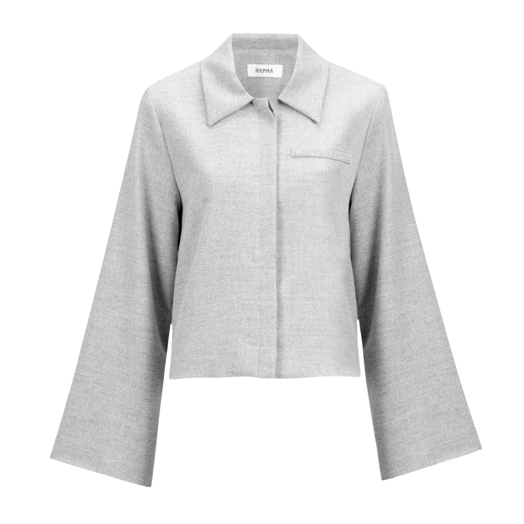 Shadow Wool Jacket | Coats & Jackets | Rhumaa | [product_tag] - Fair Bazaar Ethical Living