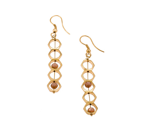 Sofia Earrings | Accessories | Daughters of The Ganges | [product_tag] - Fair Bazaar Ethical Living