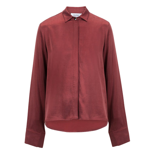 Truth Cupro Shirt | Terracota - Fair Bazaar Ethical Living