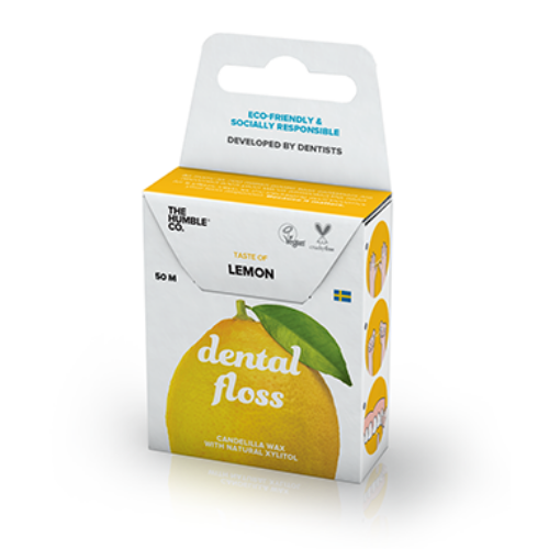 Lemon Dental Floss | Beauty | The Humble Co. | [product_tag] - Fair Bazaar Ethical Living