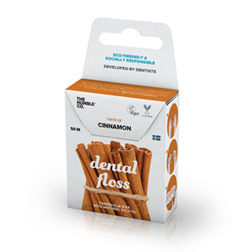 Cinnamon Dental Floss | Beauty | The Humble Co. | [product_tag] - Fair Bazaar Ethical Living