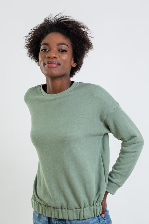 Organic Cotton Elastic Long Sleeve