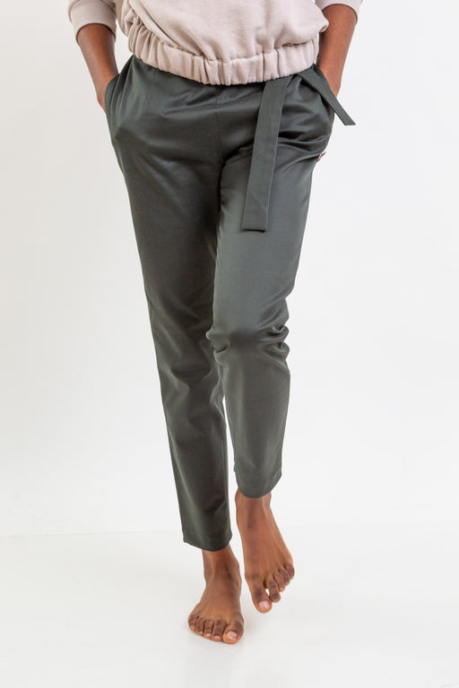 Cotton Knot Trousers