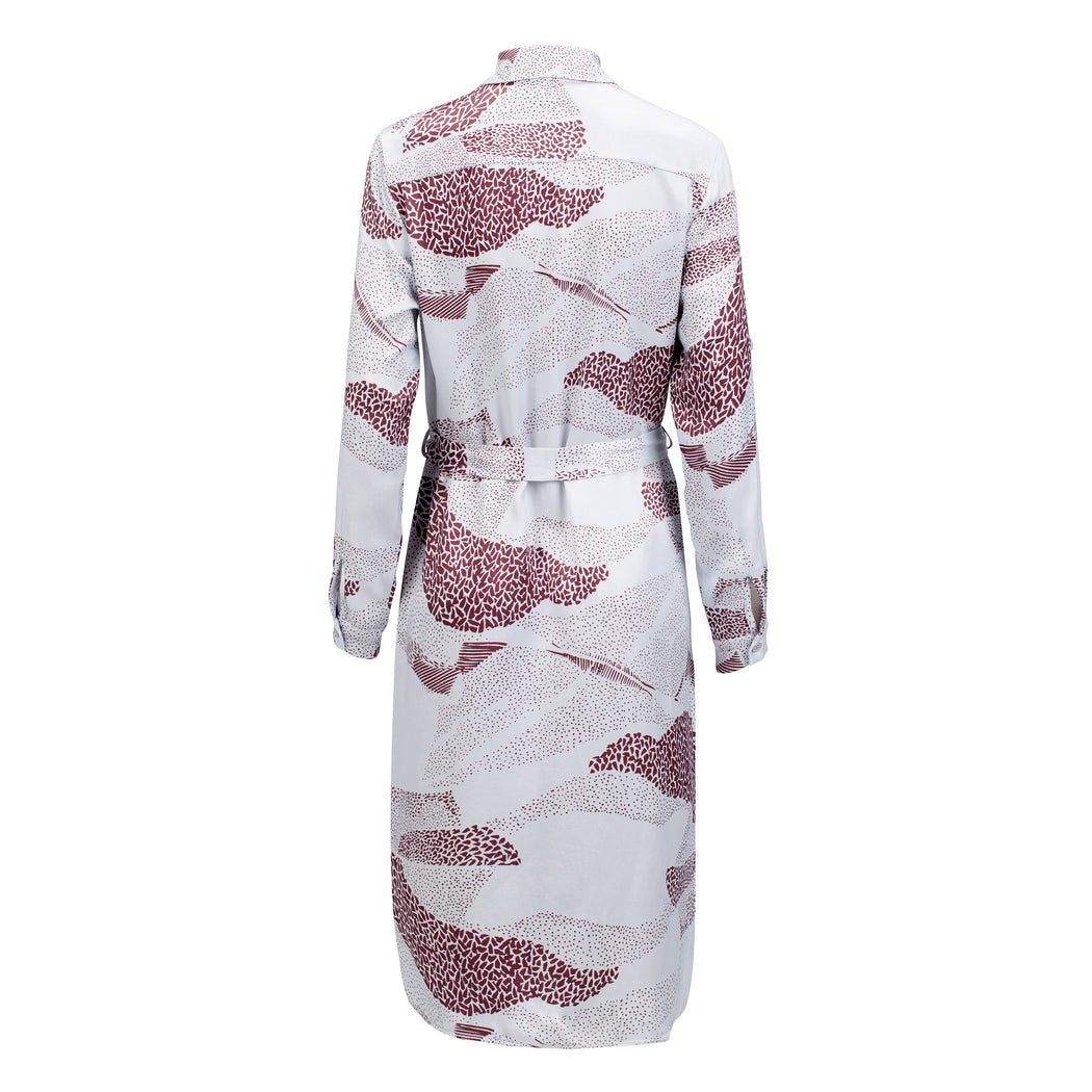 Soul Printed Shirt Dress - Fair Bazaar Ethical Living