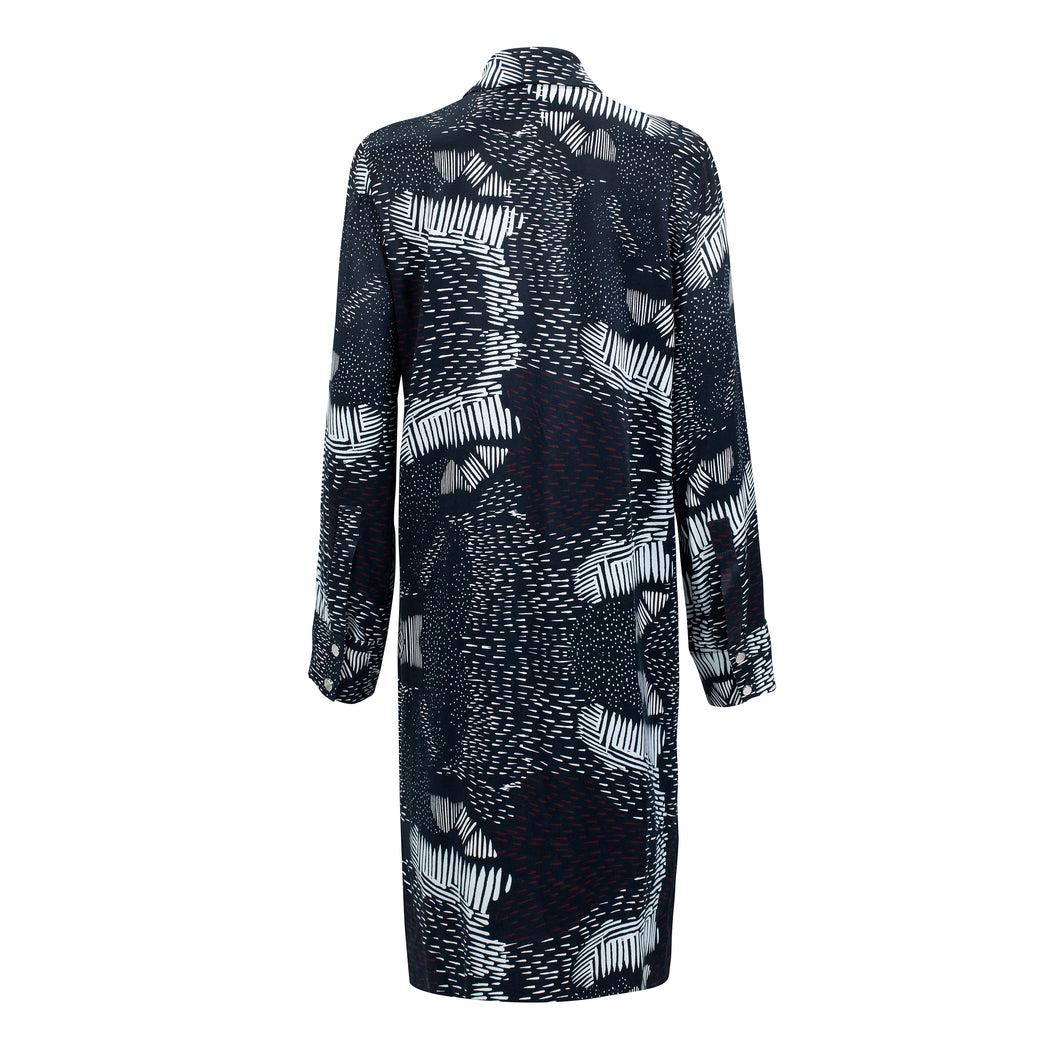 Motion Evening Shirt Dress | Dresses & Jumpsuits | Rhumaa | [product_tag] - Fair Bazaar Ethical Living