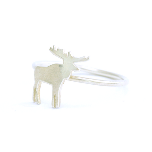Moose Silver Ring | Accessories | Tundra | [product_tag] - Fair Bazaar Ethical Living