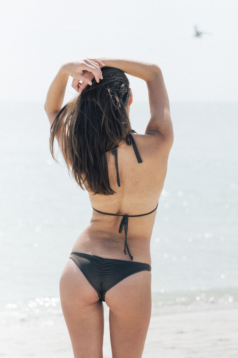 Catchy Bikini Bottom in Chia - Fair Bazaar Ethical Living