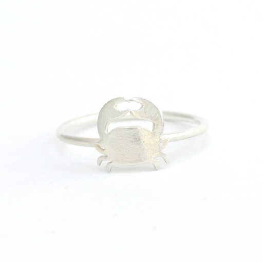 Crab Silver Ring