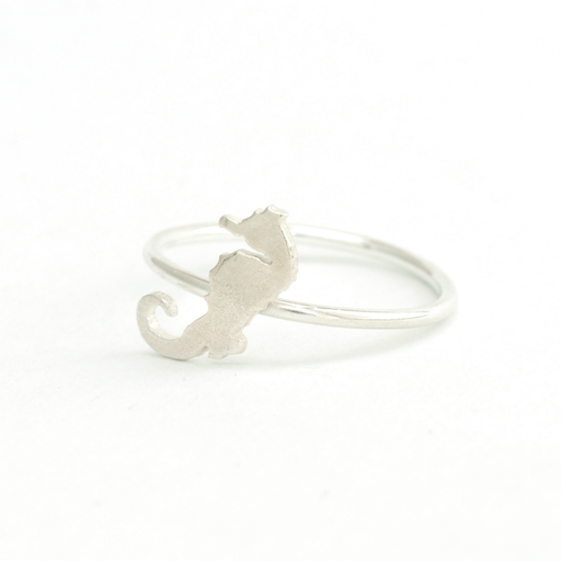 Seahorse Silver Ring | Accessories | Tundra | [product_tag] - Fair Bazaar Ethical Living