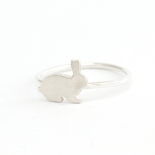 Rabbit Silver Ring