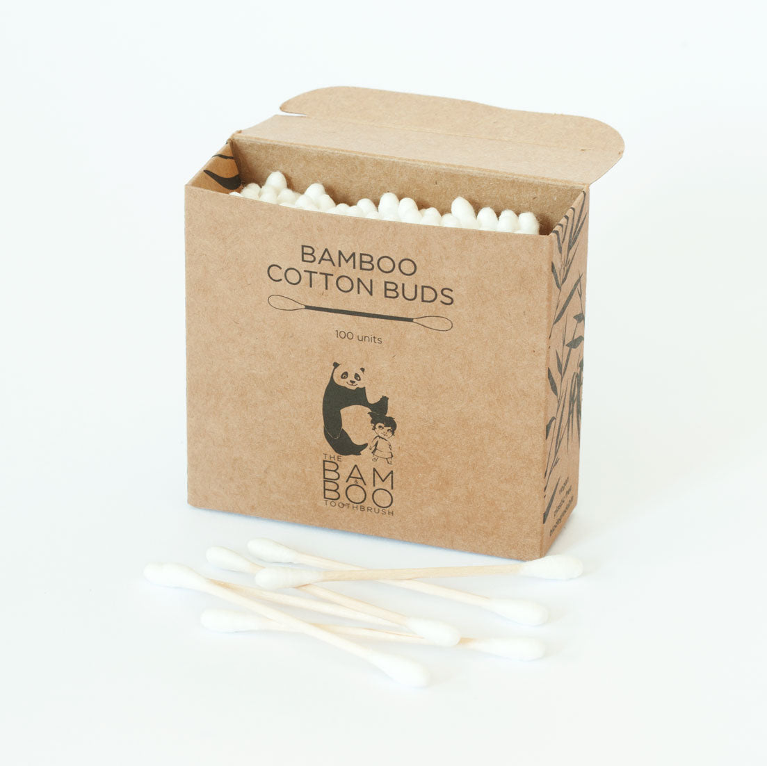 Bamboo Cotton Buds | Beauty | The Bam&Boo | [product_tag] - Fair Bazaar Ethical Living