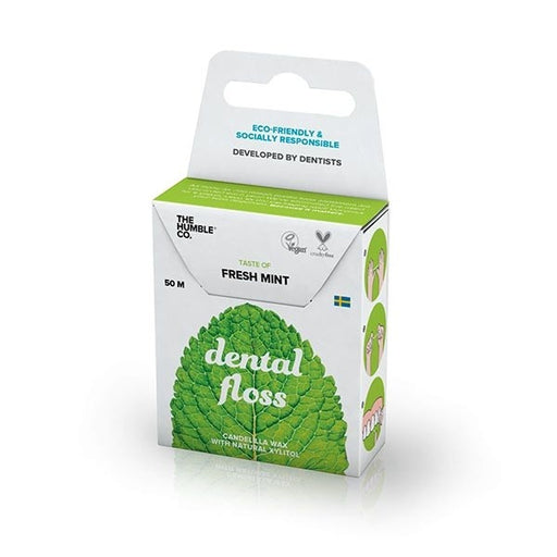 Mint Dental Floss | Beauty | The Humble Co. | [product_tag] - Fair Bazaar Ethical Living