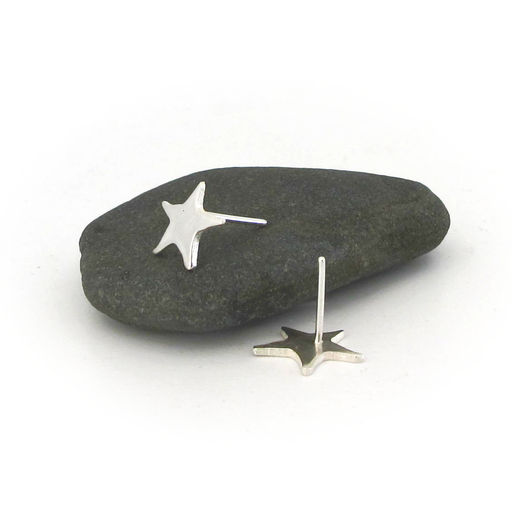 Starfish Silver Earrings | Accessories | Tundra | [product_tag] - Fair Bazaar Ethical Living