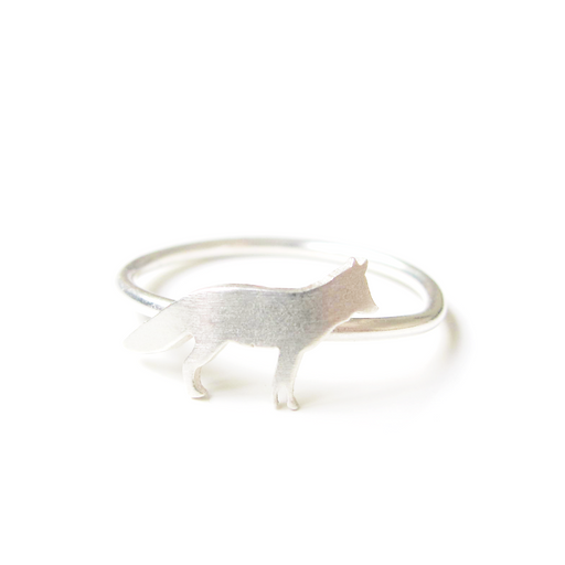 Fox Silver Ring - Fair Bazaar Ethical Living