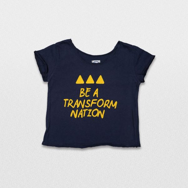 T-shirt Be a Transform Nation | T-shirts & Tops | One of Us | [product_tag] - Fair Bazaar Ethical Living