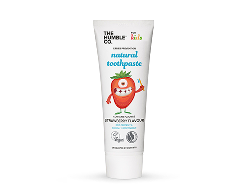 Natural Toothpaste Strawberry | Body care | The Humble Co. | [product_tag] - Fair Bazaar Ethical Living