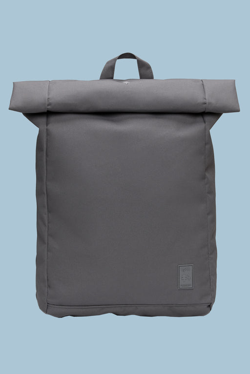 Eco Roll Backpack | Grey | Accessories | Lefrik | [product_tag] - Fair Bazaar Ethical Living