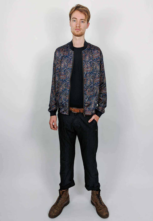 Reversible Bomber Paisley | Men