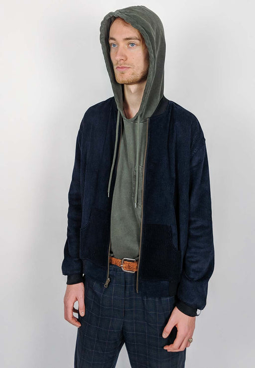 Corduroy Reversible Bomber | Men - Fair Bazaar Ethical Living
