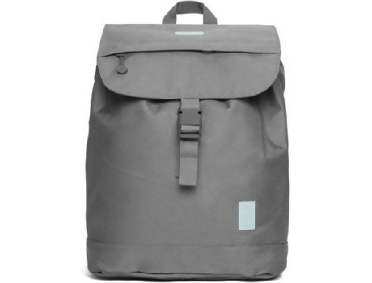 Eco Flap Backpack Small | Grey